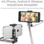 smaart selfie Stick mini one halterung